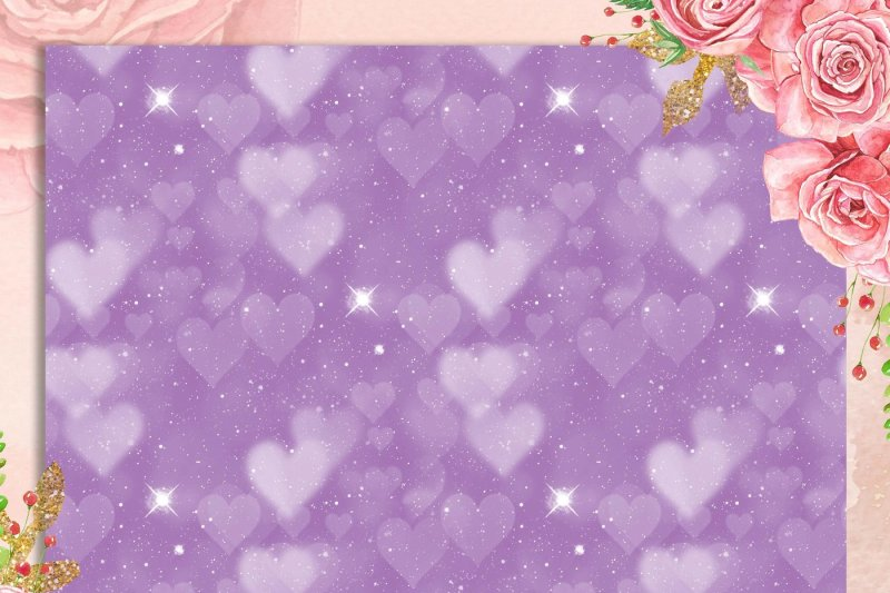 100-seamless-valentine-heart-bokeh-texture-digital-papers