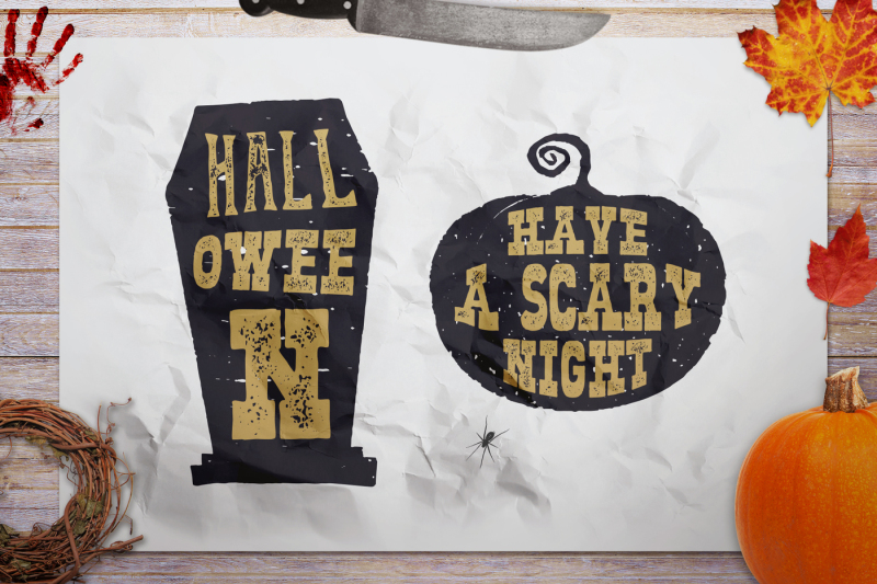 halloween-svg-badges-pumpkin-and-tomb-icons-logos