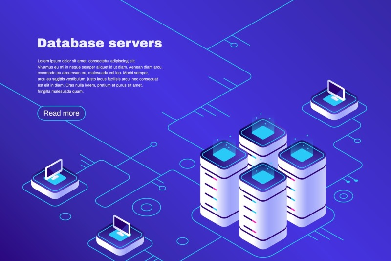 database-servers-digital-datacenter-server-network-hosting-tech-supp