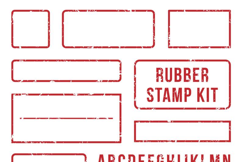 rubber-stamp-letters-red-stamps-frame-and-letterpress-symbols-with-fo