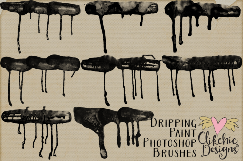 dripping-paint-photoshop-brushes