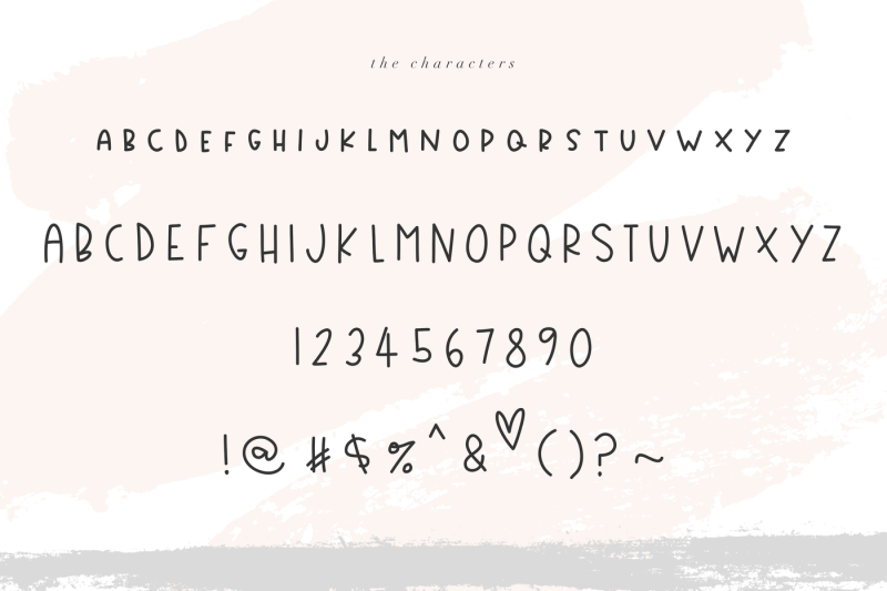 country-market-a-cute-display-font