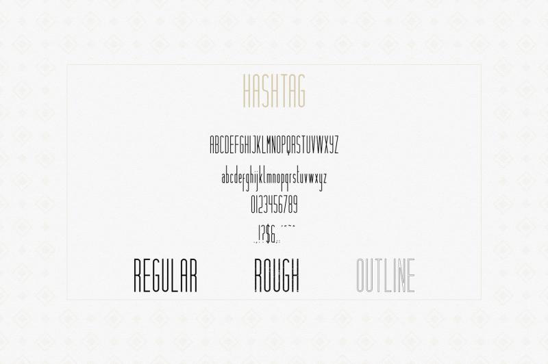 hashtag-moderna-duo-font-extra