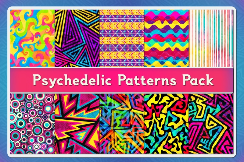 psychedelic-patterns-pack