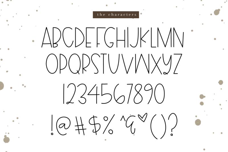 hayride-a-thin-handwritten-font