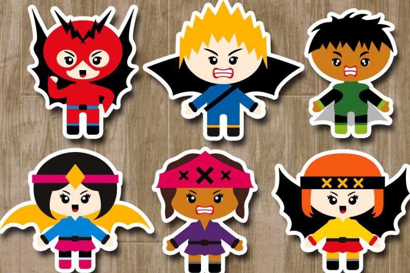 superhero-villains-clipart-graphics-angry-kids