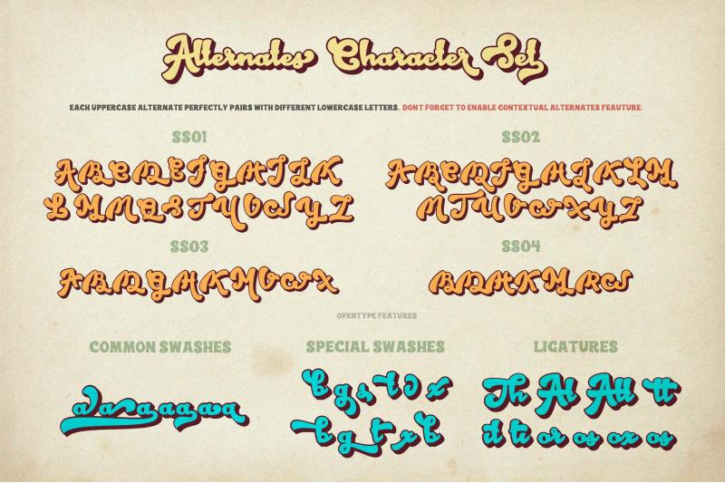 hubber-retro-script-font