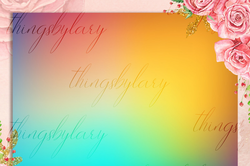 16-rainbow-gradient-texture-digital-papers-fairy-tale-paper