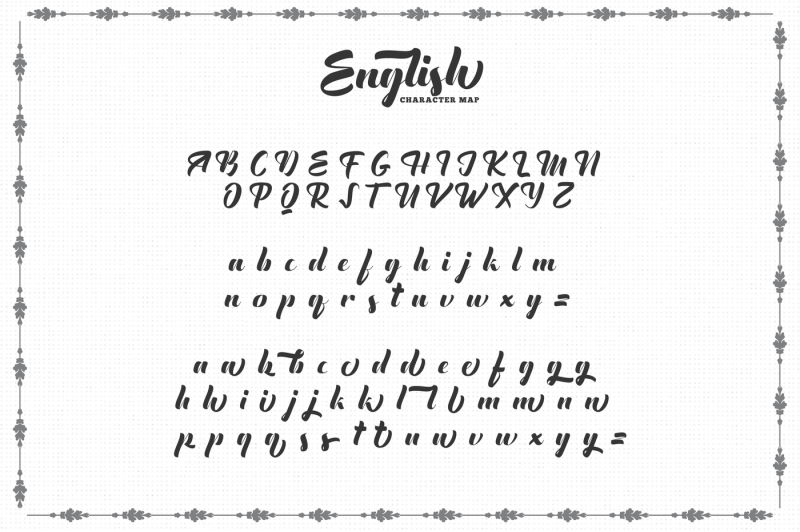 the-english-font-vintage-lettering