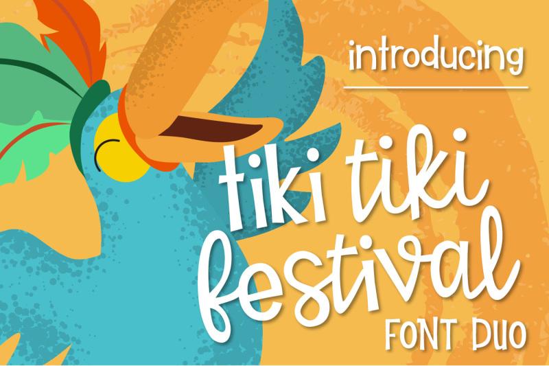 tiki-tiki-festival-font-duo