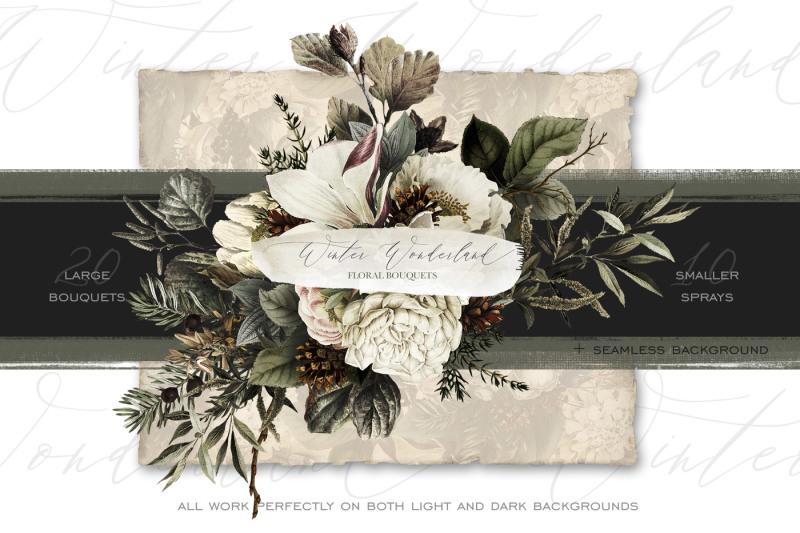 winter-wonderland-floral-bouquets
