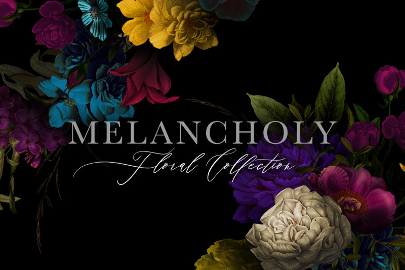melancholy-floral-collection