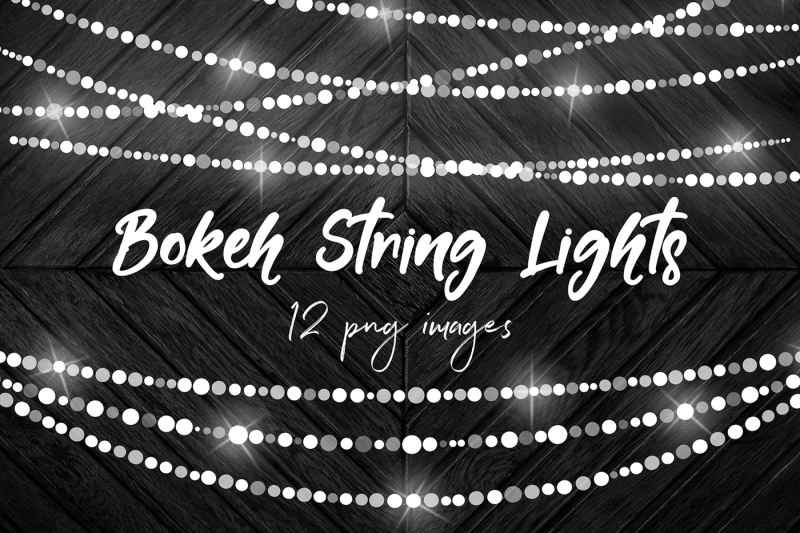 bokeh-string-lights-clipart