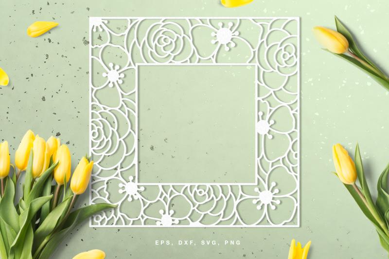 floral-square-frame-digital-cut-file-svg-dxf-png-eps