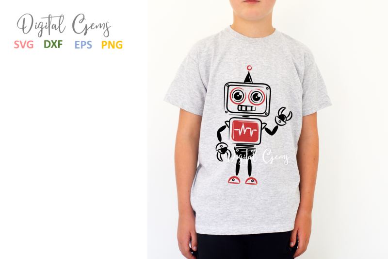 boy-robot-svg-dxf-eps-png-files