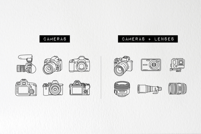 33-detailed-photography-icons