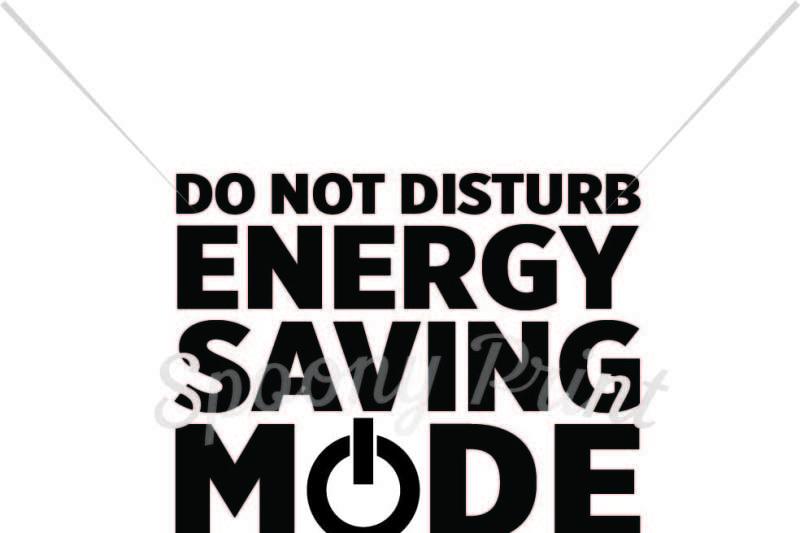 Energy Saving Mode By Spoonyprint Thehungryjpeg Com