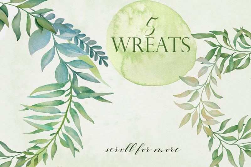greenery-wreaths