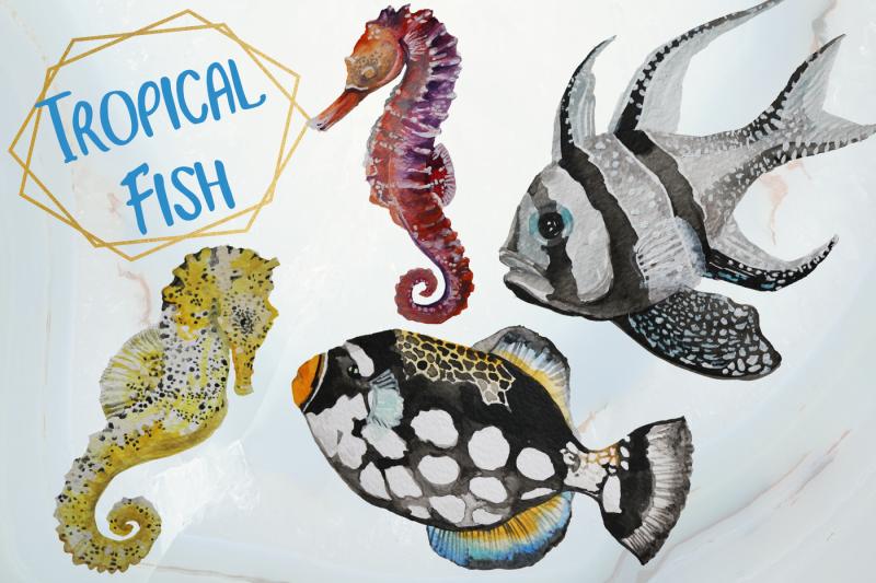 tropical-fish-watercolor-clip-art