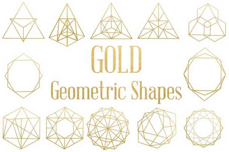 gold-geometric-shapes