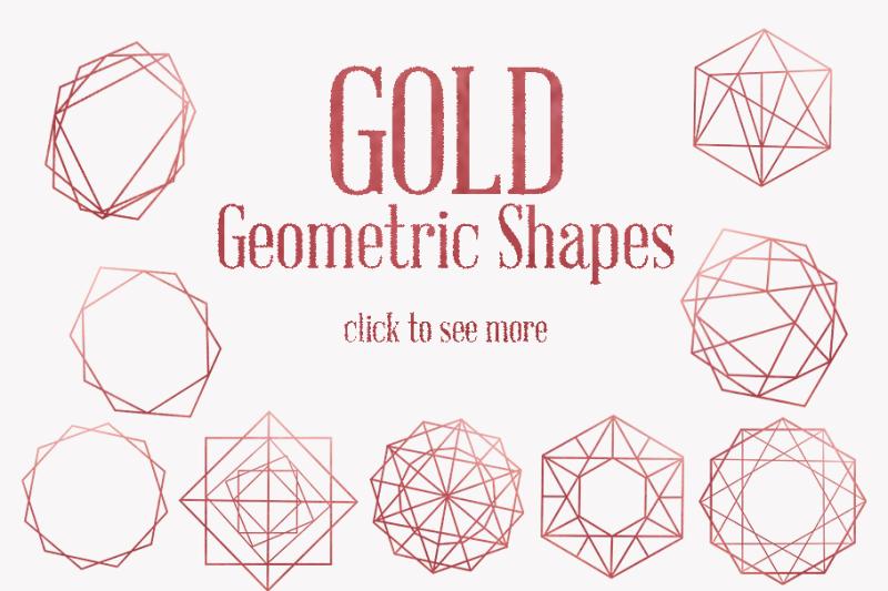 rose-gold-geometric-shapes