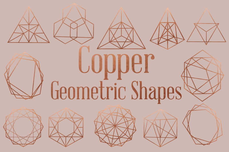 copper-vintage-style-geometric-shapes