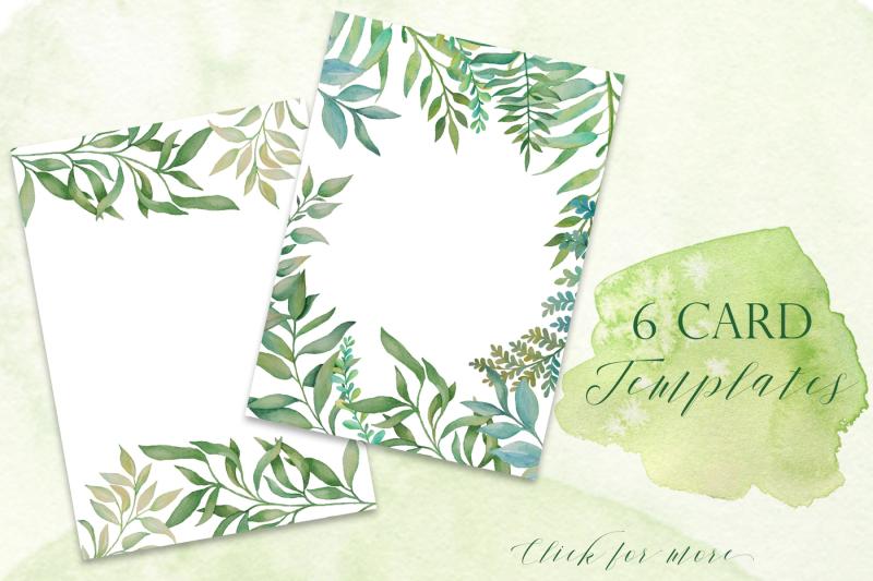 greenery-cards