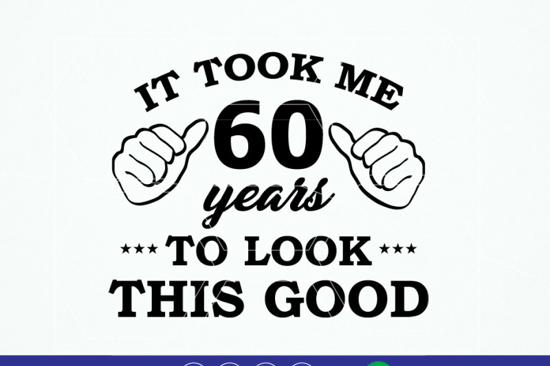 60th-birthday-vinyl-t-shirt-design