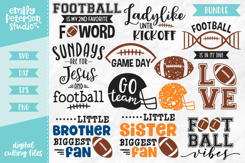 football-bundle-svg-dxf-12-designs