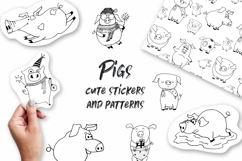 pigs-cute-vector-stickers-amp-patterns