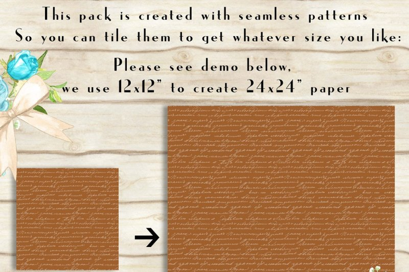 100-seamless-antique-handwriting-digital-papers