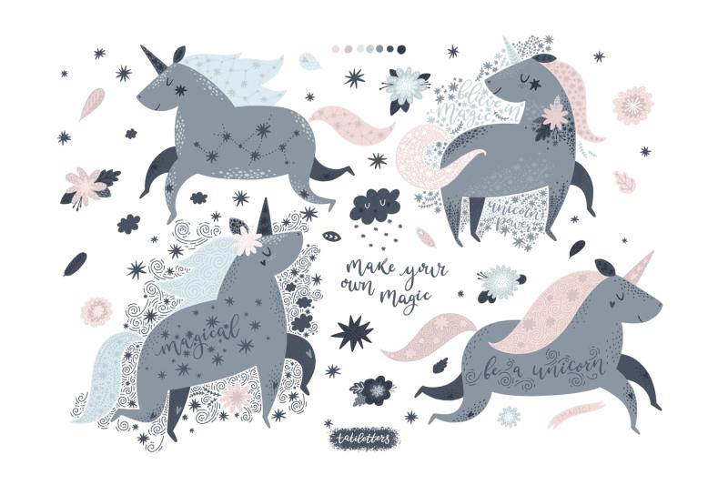unicorns-illustrations-and-patterns