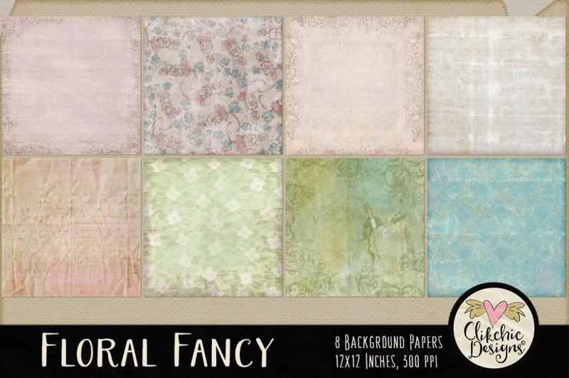 floral-fancy-digital-paper-pack