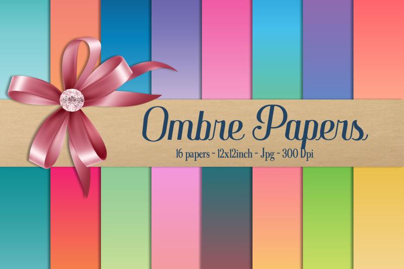 16-rainbow-gradient-digital-papers-ombre-linear-gradient