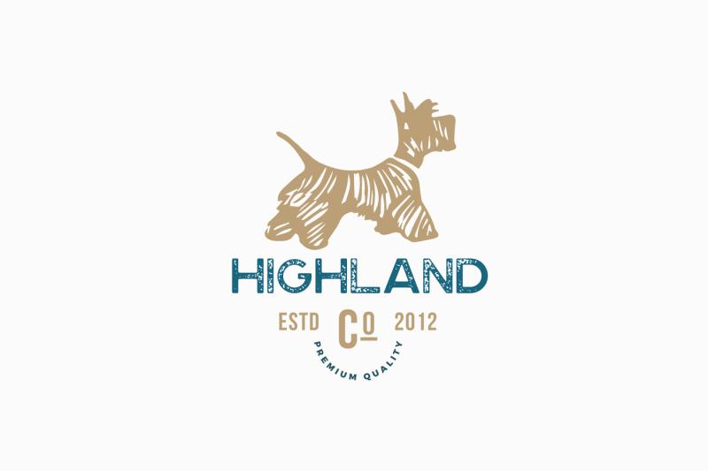 vintage-dog-logo