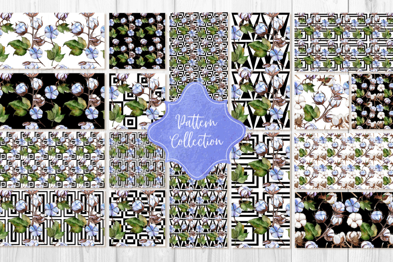blue-and-white-cotton-png-watercolor-set