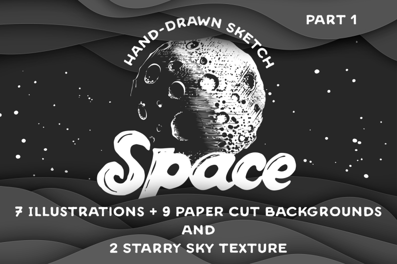 hand-drawn-space-collection