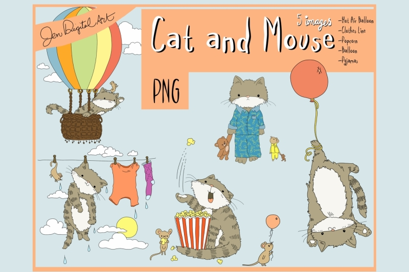 cat-and-mouse-clip-art-illustrations-png-images