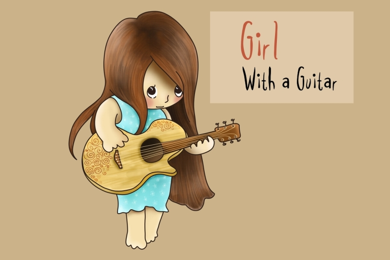 girl-with-a-guitar-png-jpeg-clip-art-illustration