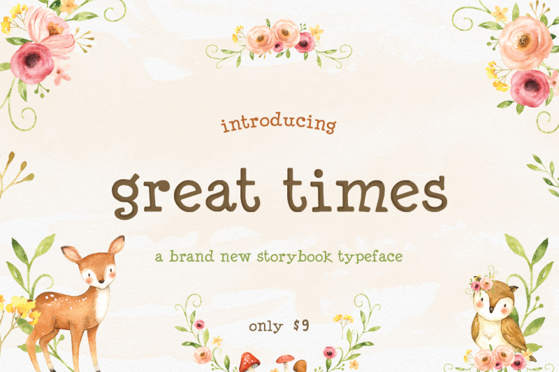 great-times-font