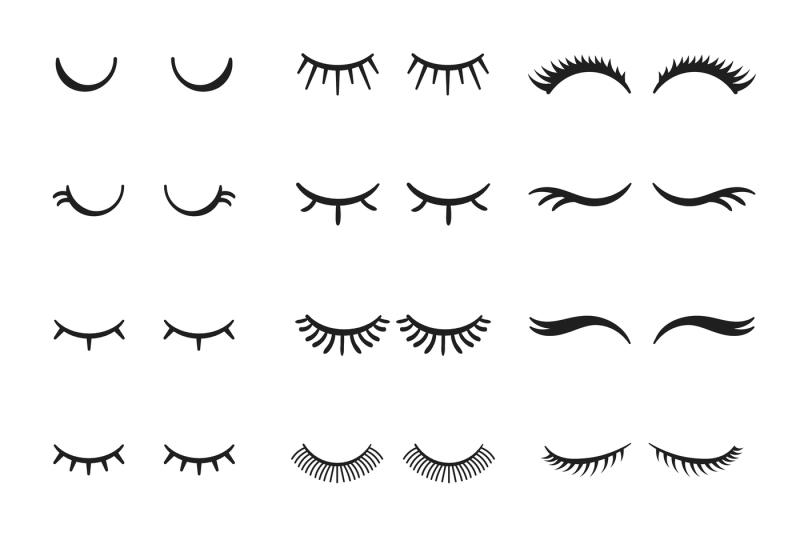 pretty-beauty-closed-eyes-girl-with-shiny-beautiful-black-eyelashes-f
