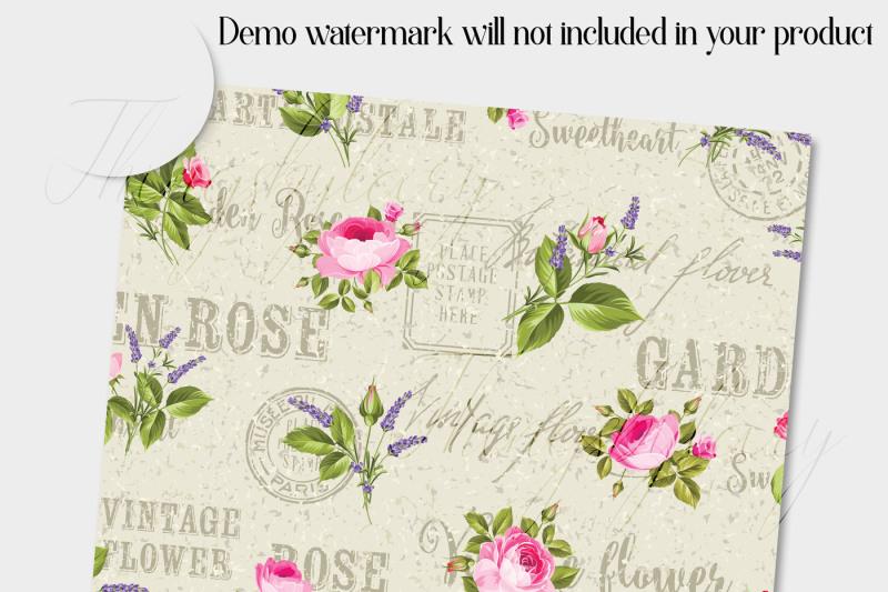 14-vintage-romantic-france-flower-digital-papers