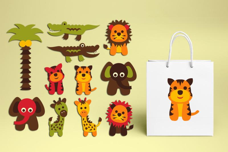 retro-safari-wild-animals-clipart-graphics