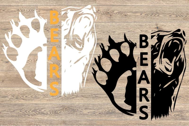 chicago-bears-svg-cutting-files-bear-football-baseball-basketball-951s