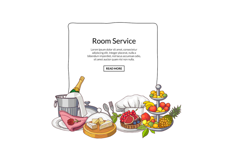 vector-hand-drawn-restaurant-or-room-service-elements-gathered