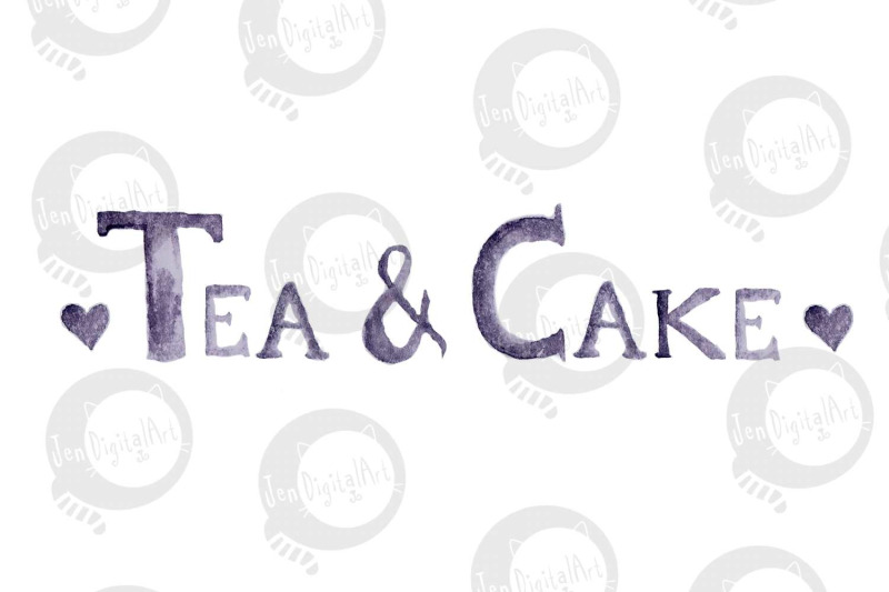 tea-and-cake-watercolour-clip-art-hand-painted-png