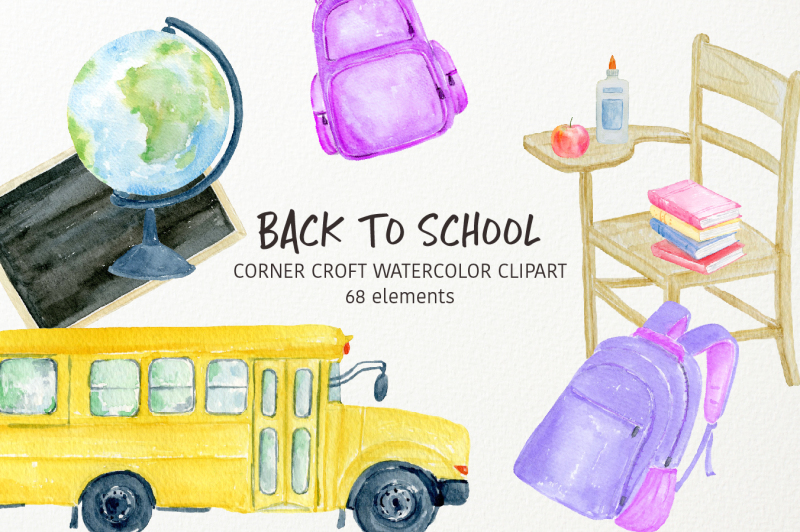 watercolor-back-to-school-clipart-stationery-clipart