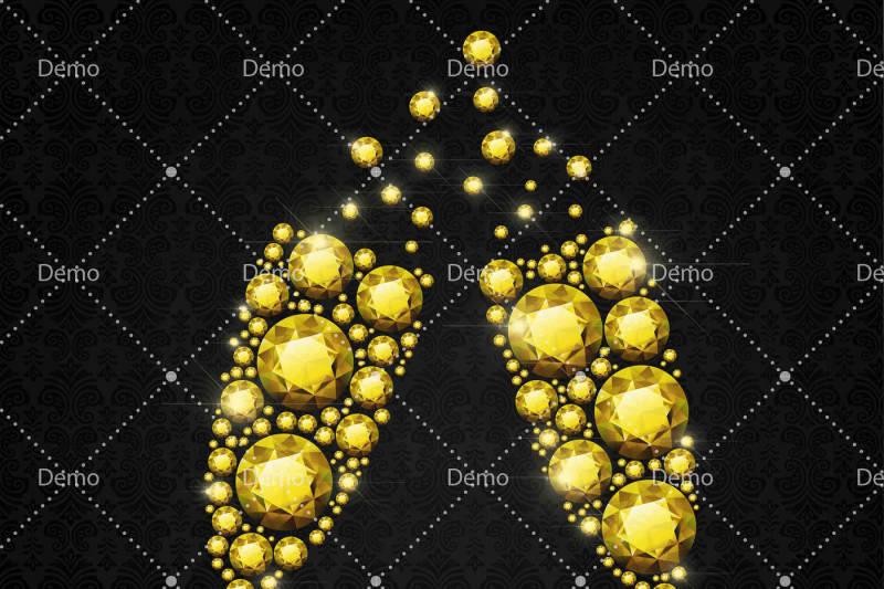 14-diamond-and-pearl-champagne-glass-clip-arts