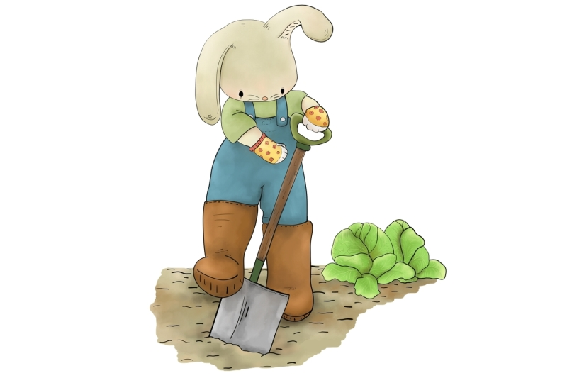 rabbit-in-the-garden-clip-art-illustration-jpeg-png