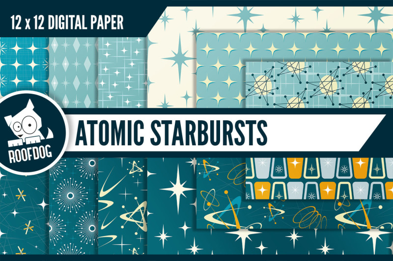 1950s-mid-century-atomic-starburst-digital-paper